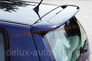 Спойлер со стопом под покраску на Volkswagen Polo 2005-2009 хэтчбек
