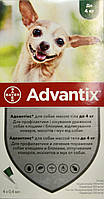 Bayer Advantix *Адвантикс* для собак до 4 кг за 1 пипетку