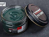 Крем для обуви из гладкой кожи Tarrago Shoe Cream, 50 мл, цв. темно-зеленый