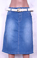 Юбка по колена больших размеров, фото 1