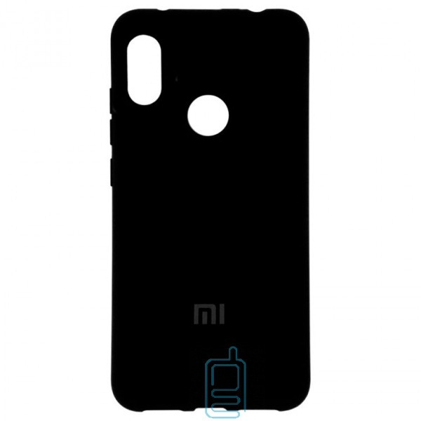 Чехол Silicone Case Full Xiaomi Redmi 6 Pro. Mi A2 Lite черный