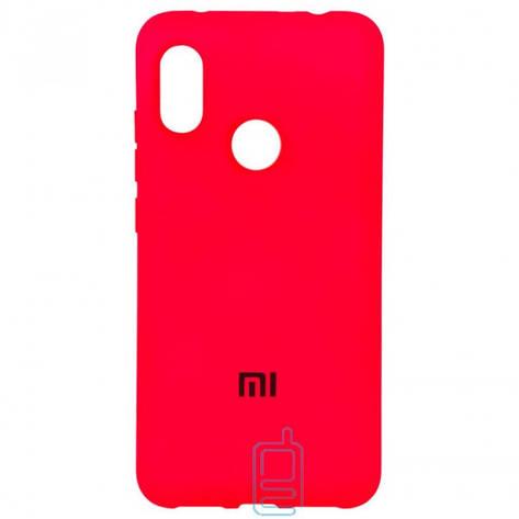 Чехол Silicone Case Full Xiaomi Redmi 6 Pro. Mi A2 Lite красный, фото 2