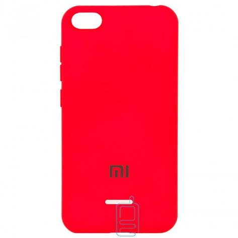 Чехол Silicone Case Full Xiaomi Redmi 6A красный, фото 2