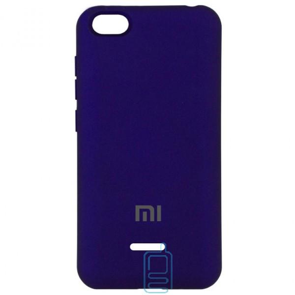 Чехол Silicone Case Full Xiaomi Redmi 6A фиолетовый