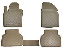 Коврики салона (полиуретановые) бежевые Lexus rx 300/330/350/400h (2003-2009)