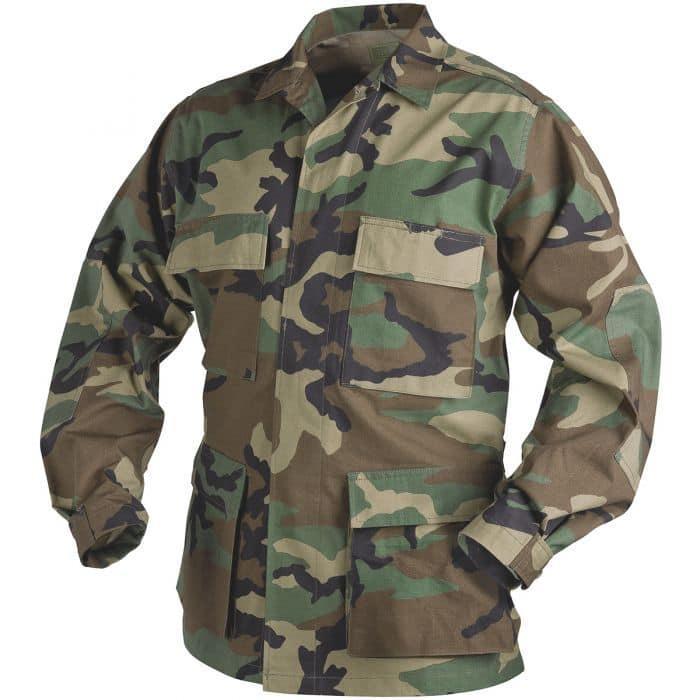 Комплект униформы от Miltec реплика армии США  вудланд рип-стоп  100% хлопок