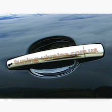 Накладки на ручки Carmos на Peugeot 308 2007-2013
