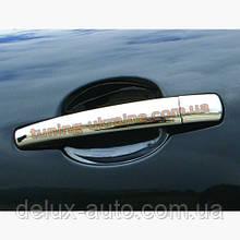 Накладки на ручки Carmos на Peugeot 407 2004-2011