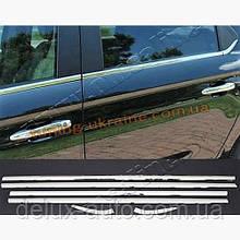 Окантовка стекол 6шт Carmos на Peugeot 3008 2009-2014