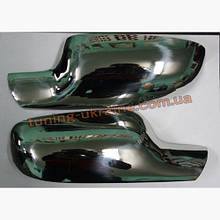 Накладки на зеркала Carmos на Renault Megane 2 2002-2009
