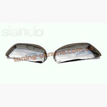 Накладки на зеркала Carmos на Skoda Octavia A5 2004-2009