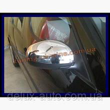 Накладки на зеркала Carmos на Skoda Roomster 2006
