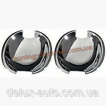 Накладки под ручки (мыльницы) Carmos на Volkswagen Golf 5 2003-2008