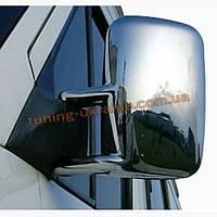 Накладки на зеркала из абс пластика Carmos на Volkswagen LT35 1996-2006