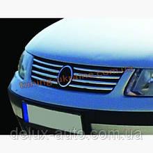 Накладки на решетку радиатора Carmos на Volkswagen Passat B5 1996-2005