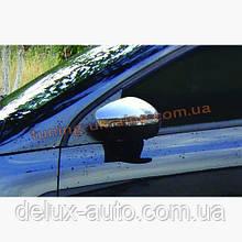 Накладки на зеркала Carmos на Volkswagen Polo 2009-2015 хэтчбек