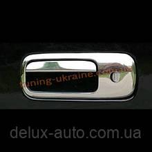 Накладка на ручку двери багажника Carmos на Volkswagen Sharan 1995-2010/2010+
