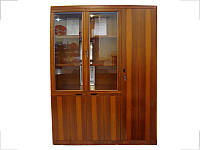 Шкаф Офисный Мукс YCB509B Орех (Диал ТМ)