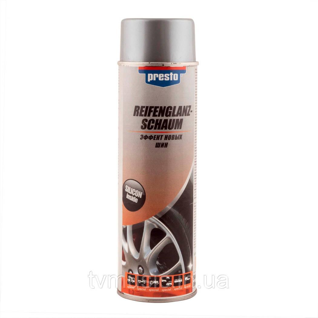 Очиститель шин Presto Reifenglanz-Schaum 500 мл