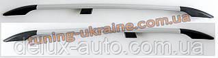 Рейлинги Серый металлик тип Premium на Nissan Qashqai 1 2011-2014
