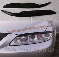 Реснички на фары для Mazda 6 2002-2007 седан