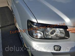 Реснички на фары для Subaru Forester 2002-2008