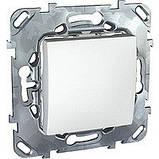 Вимикач 1-кл., білий. Unica MGU3.201.18, фото 2