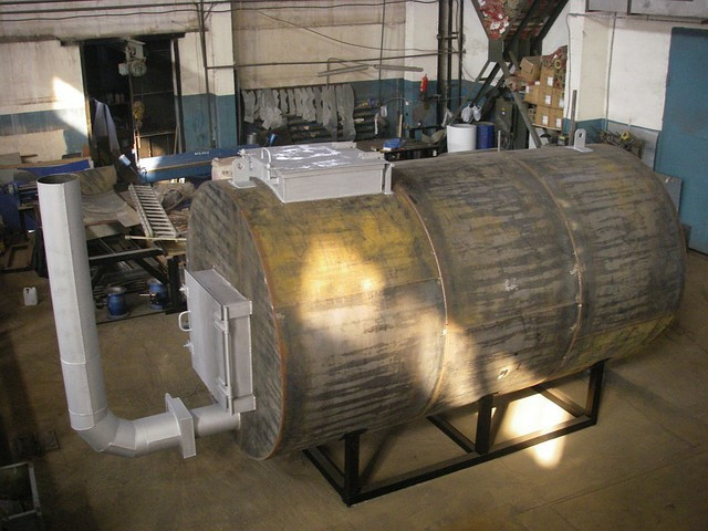 Печь пиролизная для производства древесного угля - Спд Данилов в Житомире