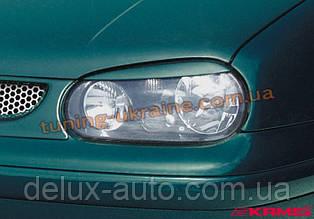 Реснички на фары для Volkswagen Golf 4 1997-2004