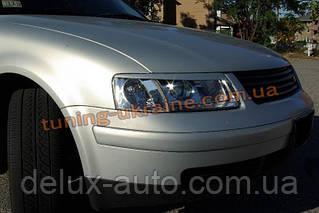 Реснички на фары для Volkswagen Passat B5 3B 1998-2000