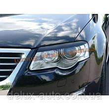 Реснички на фары для Volkswagen Passat B6 2005-2010