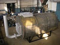 Печь пиролизная для производства древесного угля