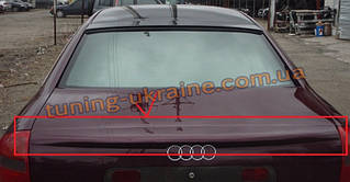 Спойлер из стеклопластика на Audi A6 C5 1997-2004