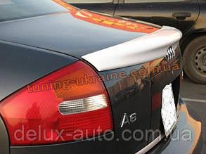 Спойлер-сабля из стеклопластика на Audi A6 C5 1997-2004