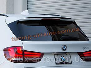 Спойлер из стеклопластика M-performance на BMW X5 F15 2013