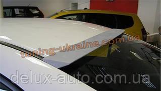 Спойлер-бленда на стекло из стеклопластика на Honda Civic 8 2005-2011 седан