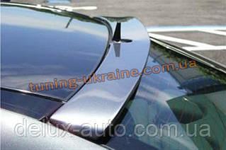 Спойлер-бленда на стекло из стеклопластика на Mercedes E W211 2002-2009
