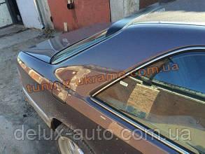 Спойлер-бленда на стекло из стеклопластика на Mercedes E W124 1984-1995 купе