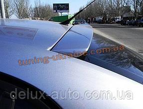 Спойлер-бленда на стекло из стеклопластика на Opel Vectra C 2002-2008