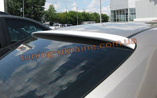 Спойлер-бленда на стекло из АБС пластика на Toyota Camry XV40 2006-2011
