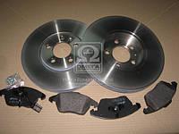 Комплект тормозной передний AUDI A3, SEAT TOLEDO, SKODA FABIA, OCTAVIA, Volkswagen (производство REMSA) (арт. 81030.03), AGHZX