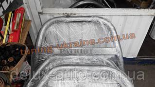 Кенгурятник крашенный цвет черный мат на Уаз Патриот 2005-2014