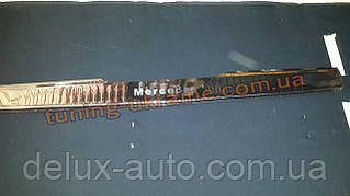 Накладка на задний бампер с резинкой для Mercedes Vito W640 2015+