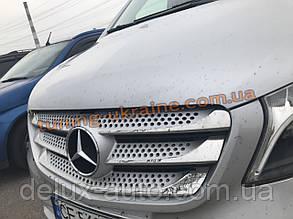 Хром накладки на решетку для Mercedes Vito W640 2015+