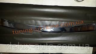 Накладка на задний бампер без логотипа и резинки для Mitsubishi ASX 2014+