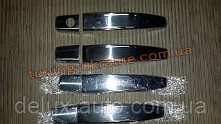 Хром накладки на ручки для Opel Zafira B 2006-2011