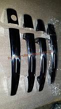 Хром накладки на ручки для Peugeot 207 2006-2012