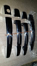 Хром накладки на ручки для Peugeot 307 2001-2008