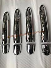 Хром накладки на ручки для Renault Fluence 2009-2012