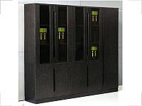 Стенка шкафов Grasp Венге GRS-919 и GRS-519 (2300ММ) (Диал ТМ)